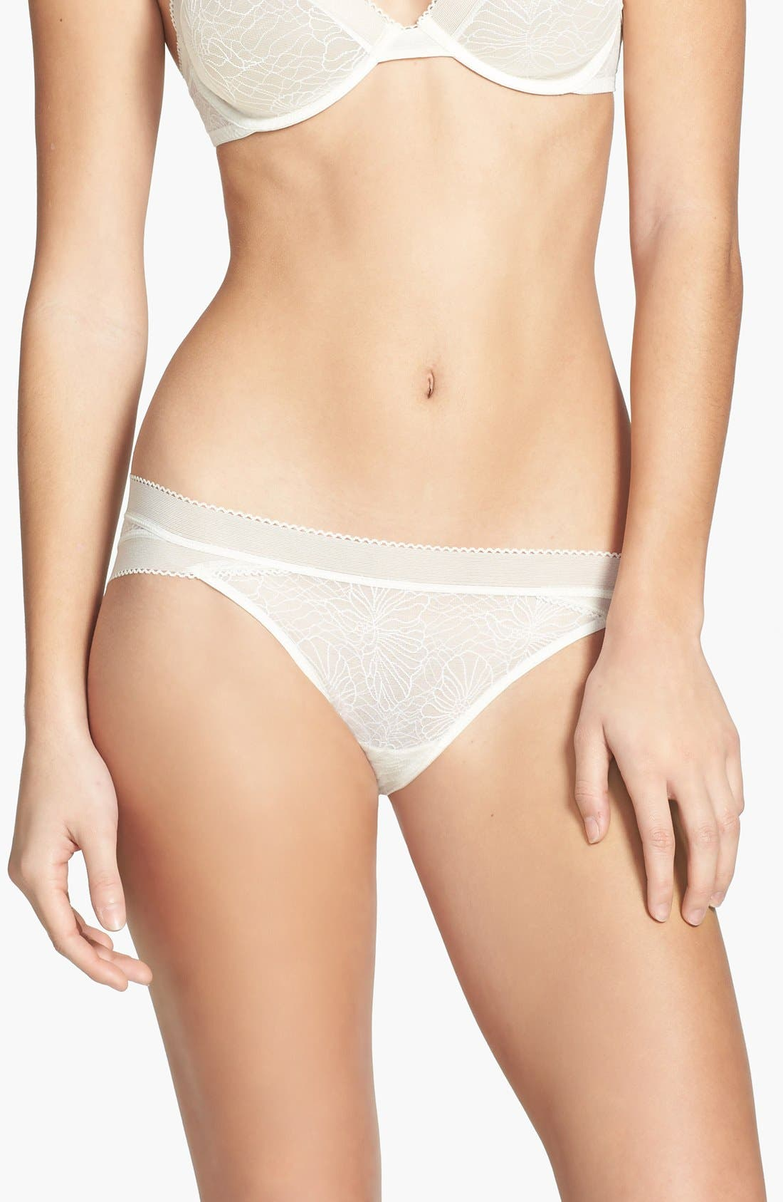 Alternate Image 1 Selected - Calvin Klein 'Icon' Lace Bikini
