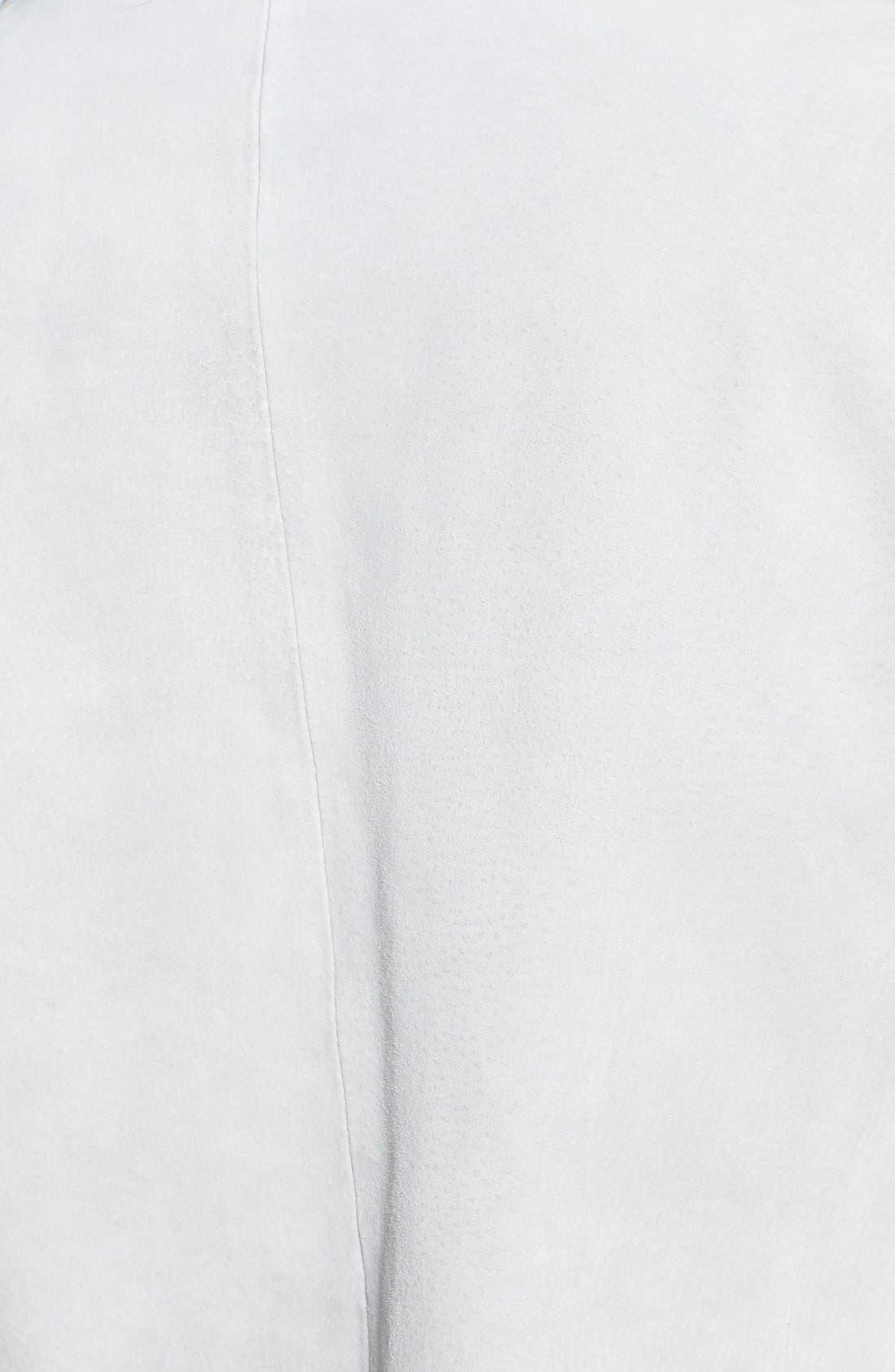 Alternate Image 3  - Soia & Kyo Collarless Suede Jacket