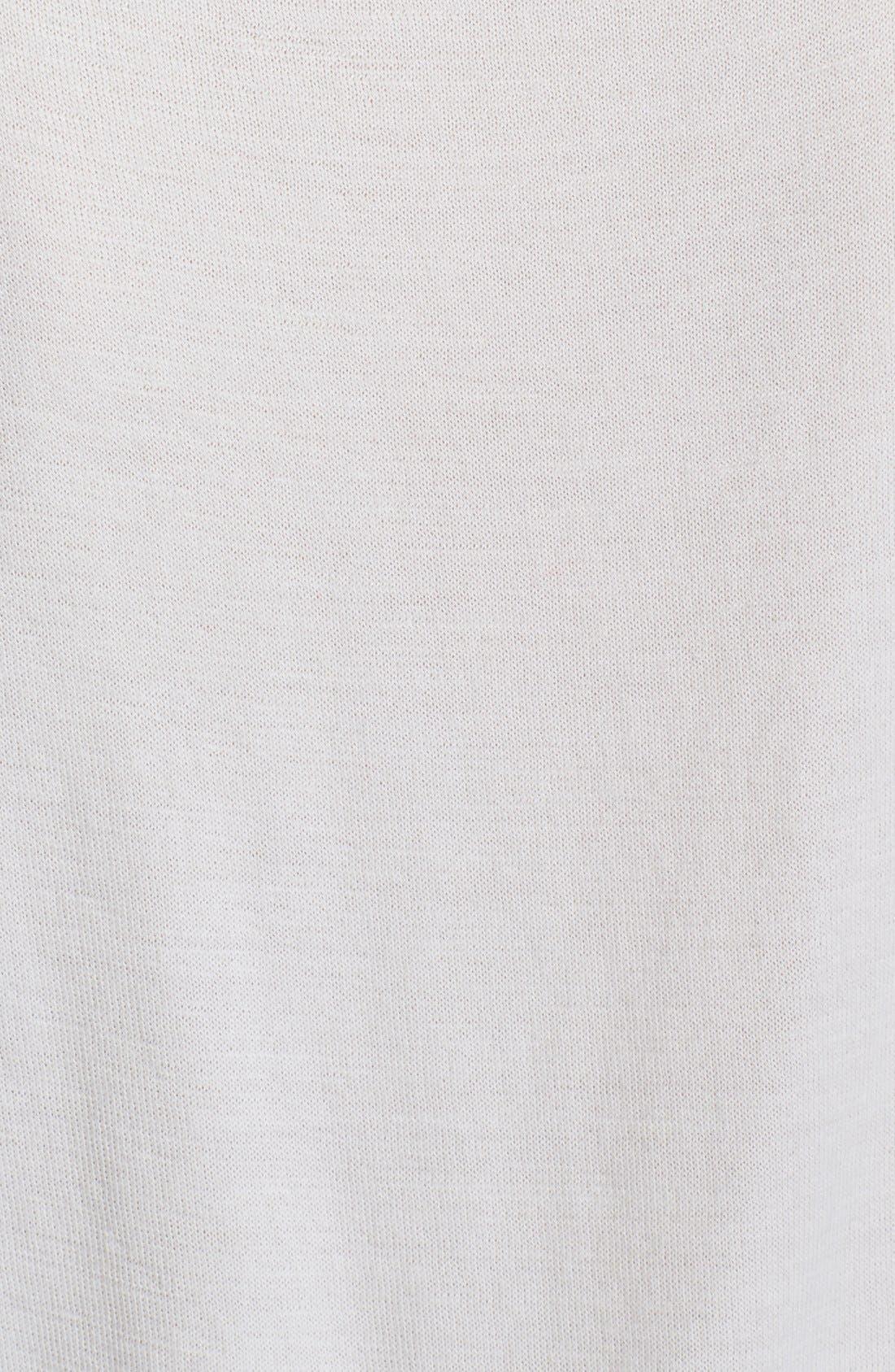 Alternate Image 3  - Nina Ricci Cashmere & Silk High/Low Top