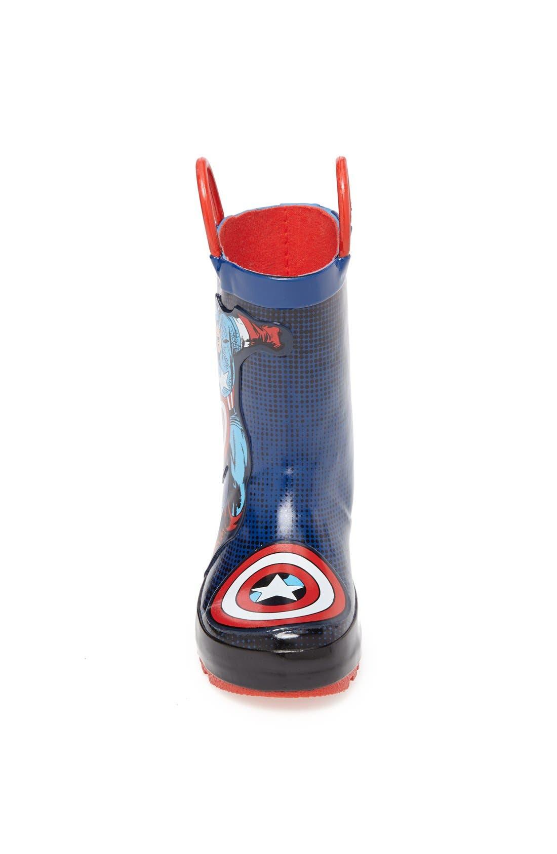 Alternate Image 3  - Western Chief 'Captain America™' Rain Boot (Toddler)