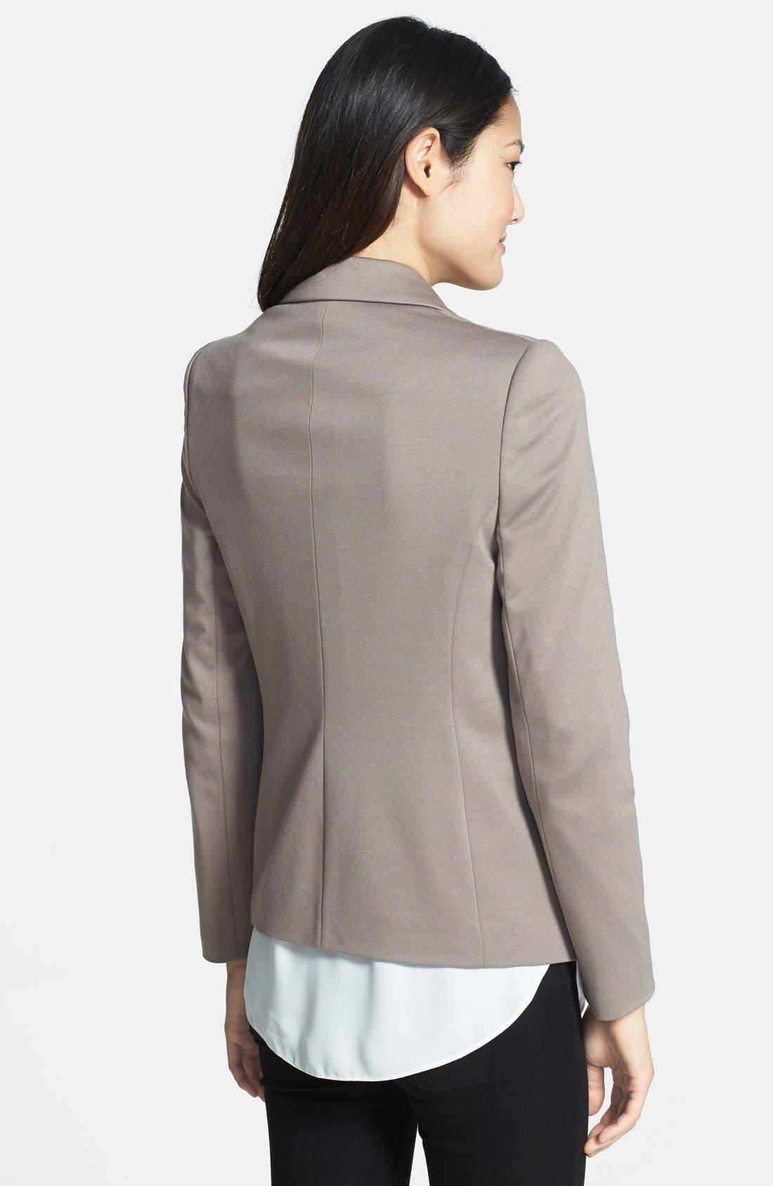 Alternate Image 2  - wallis Zip Pocket Ponte Jacket