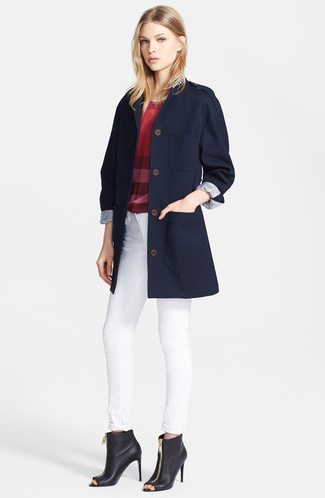 Alternate Image 4  - Burberry Brit 'Cassbury' Jacket