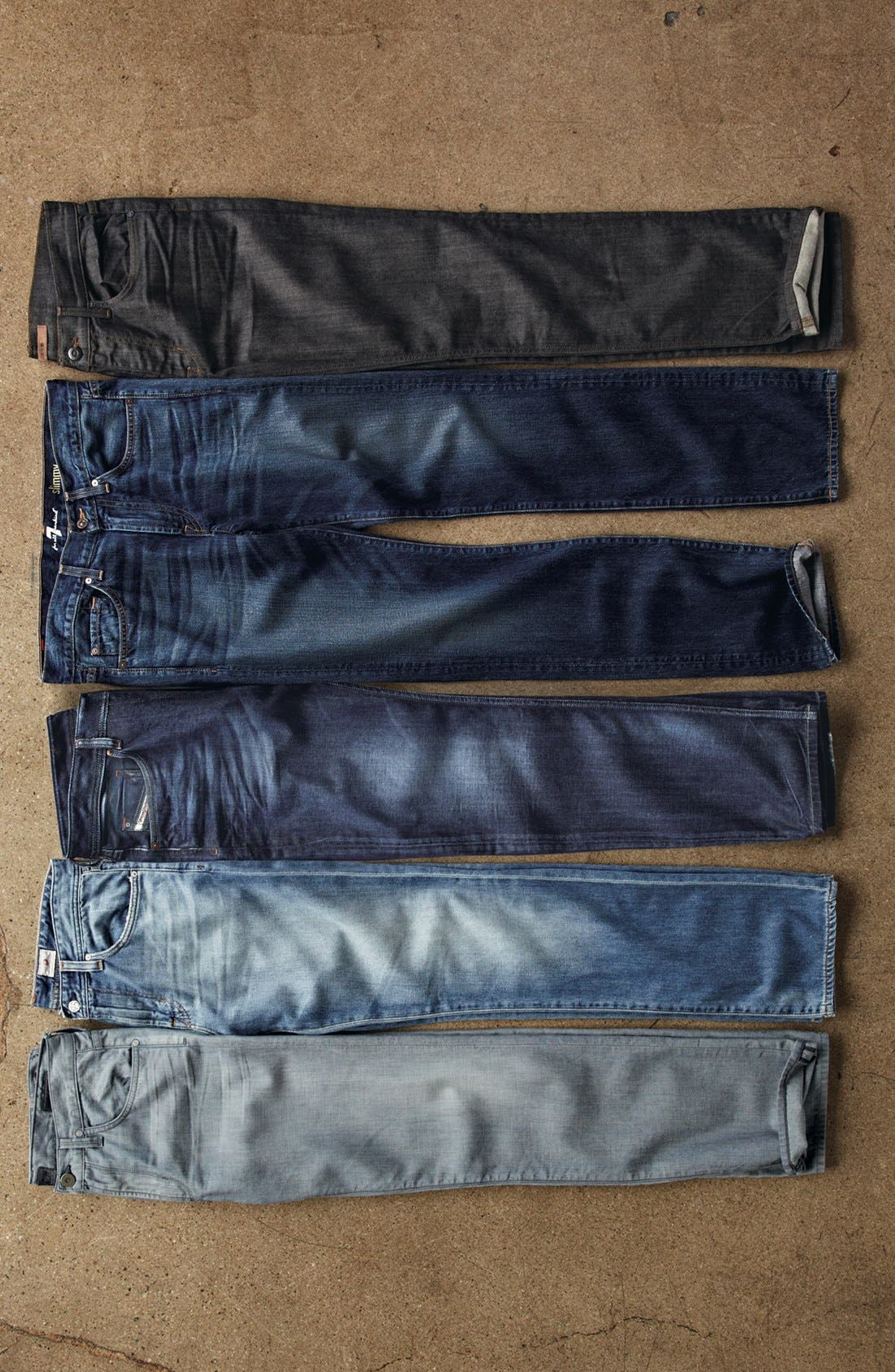 Alternate Image 5  - 7 For All Mankind® 'Slimmy' Slim Fit Jeans (Shibuya Road)