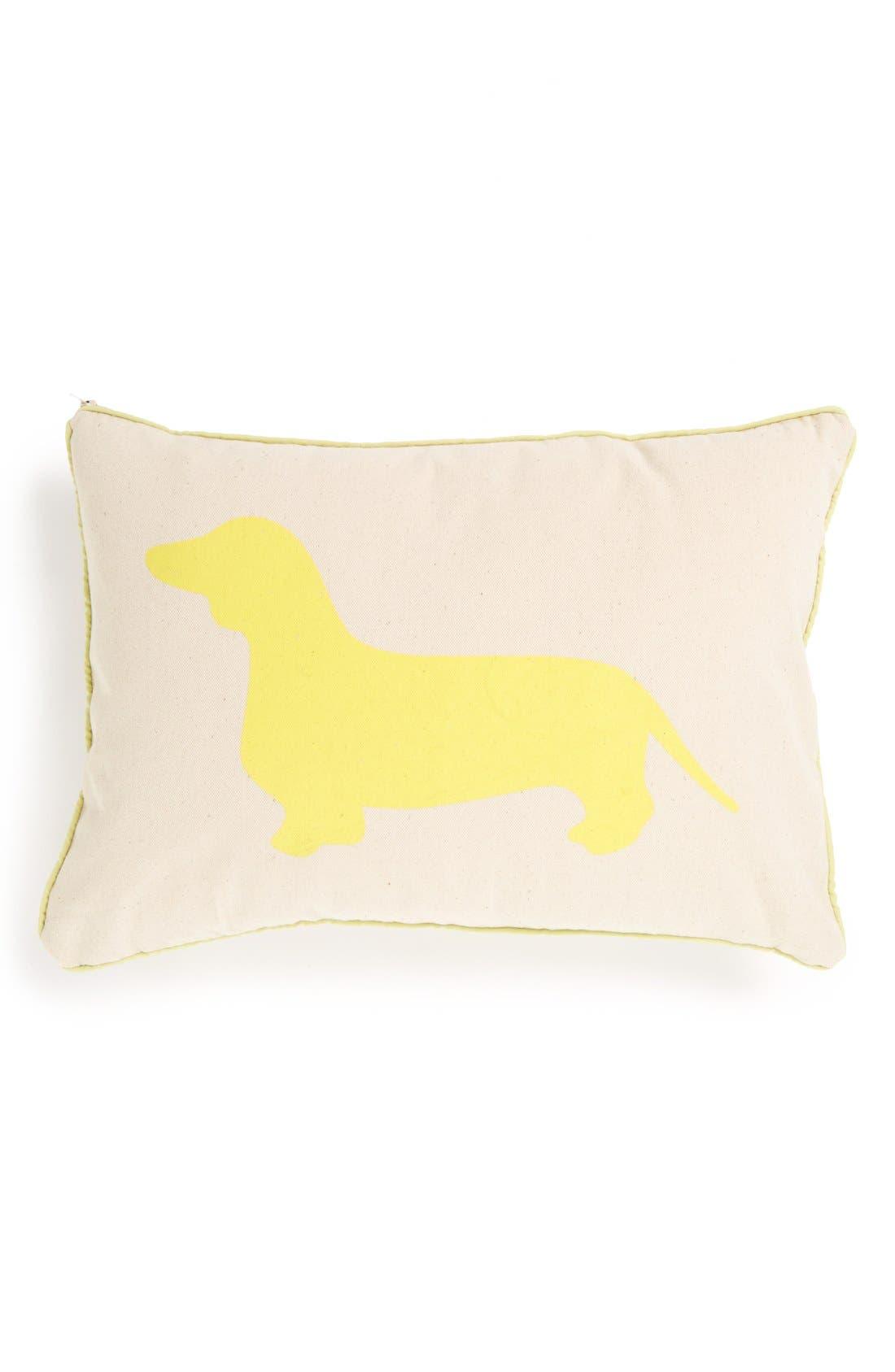 Main Image - Romy + Jacob 'Dachshund' Pillow