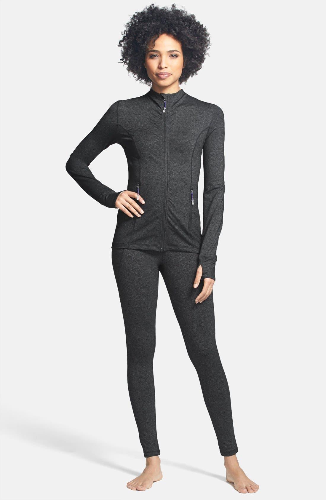 Alternate Image 3  - MSP by Miraclesuit® Miraslim Seamed Long Sleeve Jacket