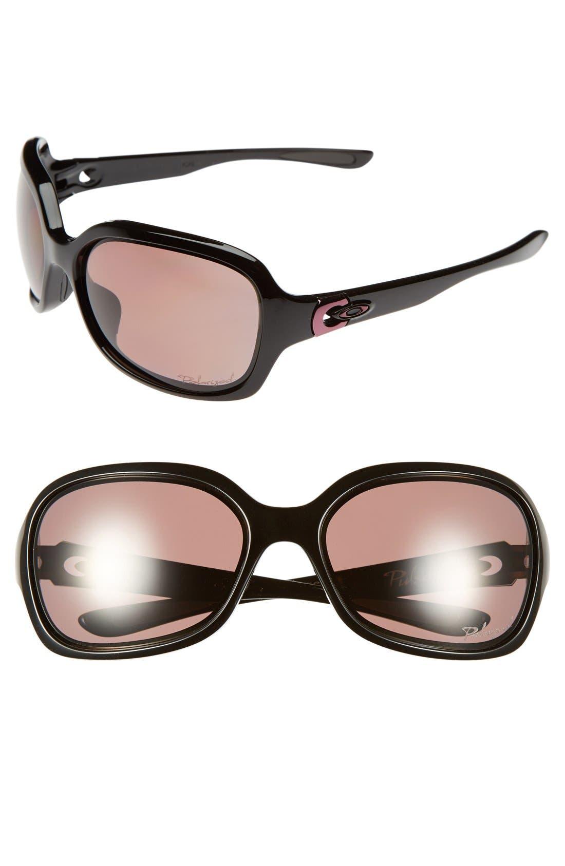 Alternate Image 1 Selected - Oakley 'Pulse' 61mm Polarized Sunglasses