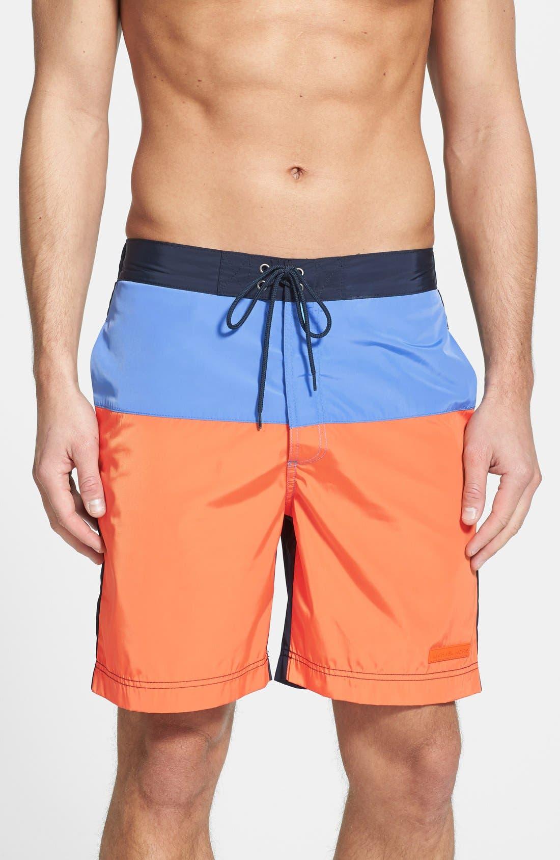 Main Image - Michael Kors Colorblock Board Shorts