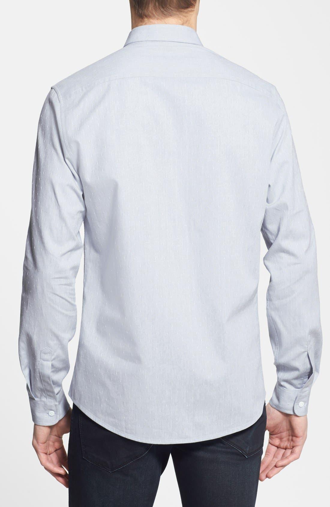 Alternate Image 2  - Topman Slim Fit Dobby Shirt