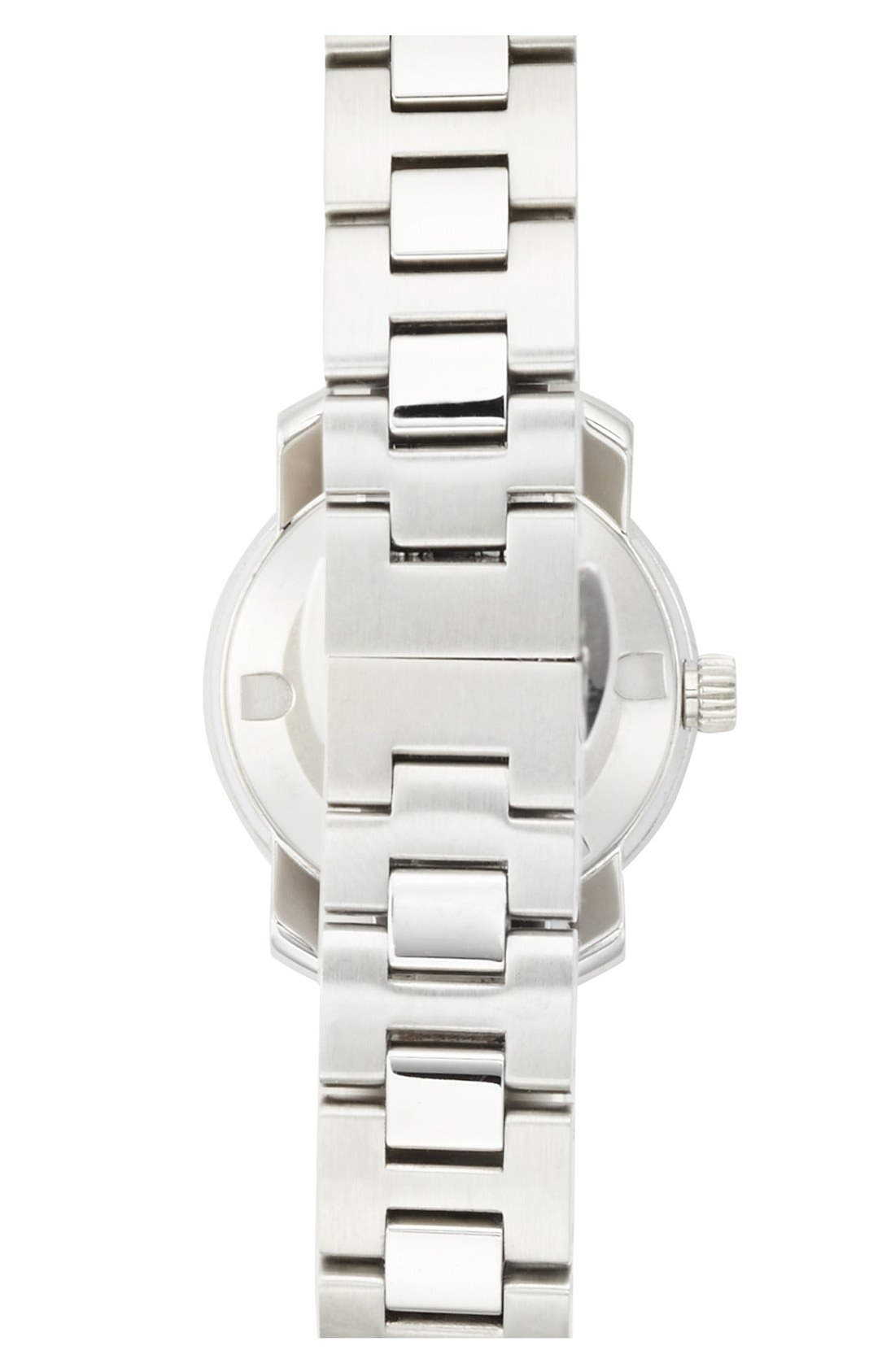 Alternate Image 2  - Movado 'Bold' Diamond Bezel Bracelet Watch, 25mm