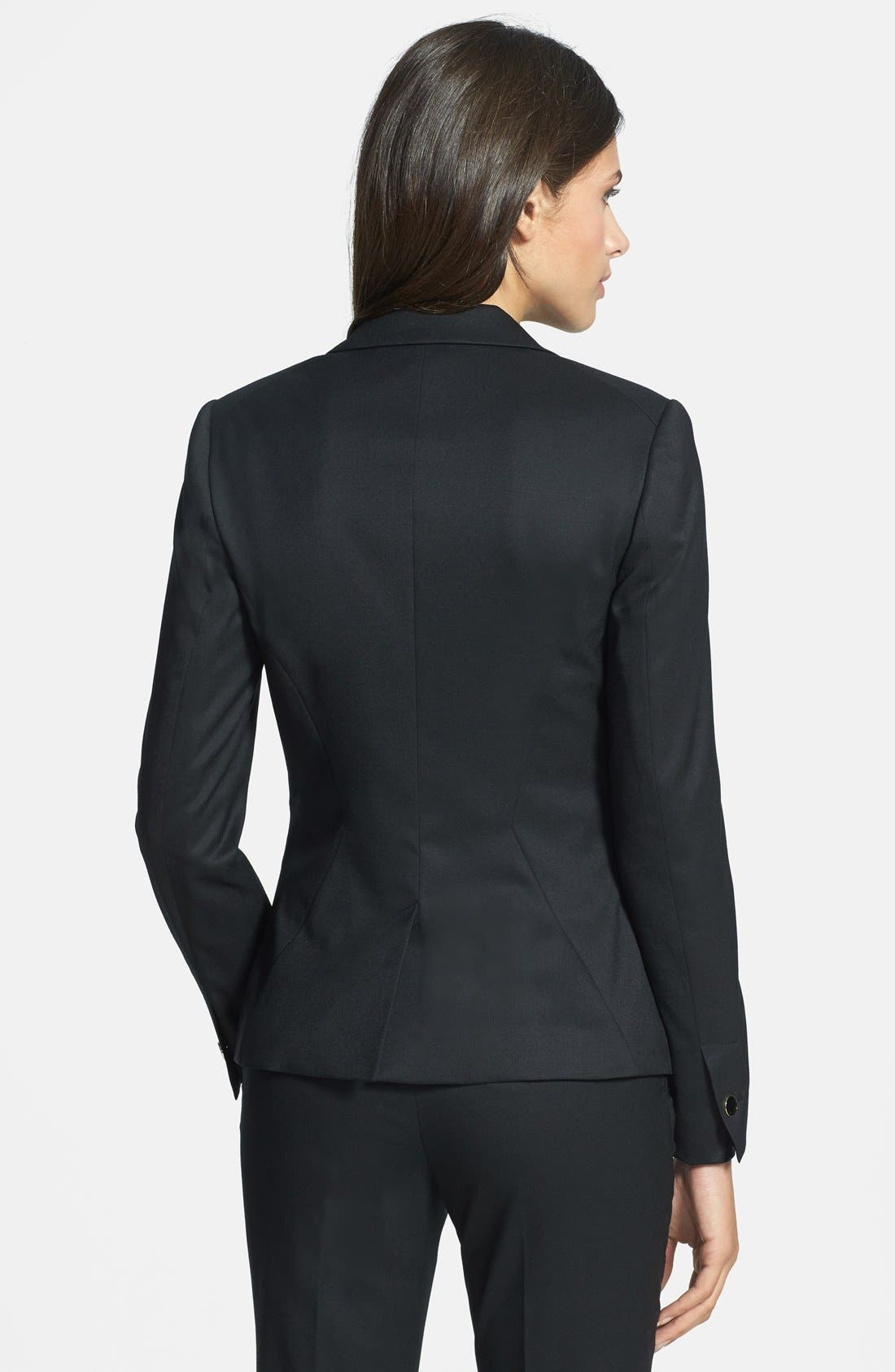 Alternate Image 2  - Ted Baker London Stretch Woven Suit Jacket