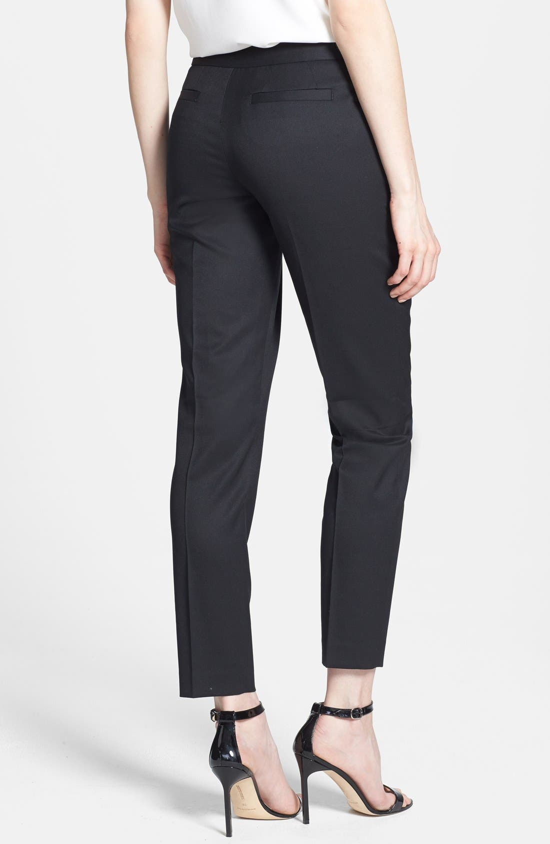 Alternate Image 2  - Ted Baker London Slim Leg Stretch Trousers