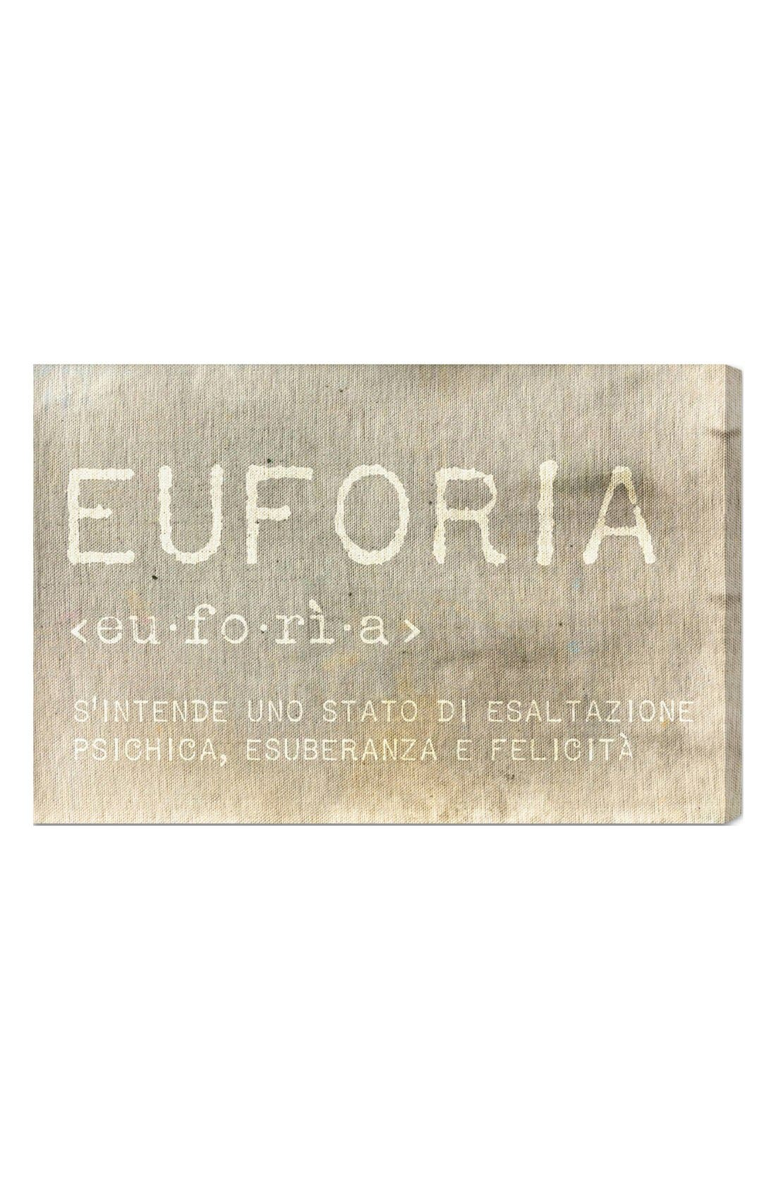 Alternate Image 1 Selected - Oliver Gal 'Euforia' Wall Art