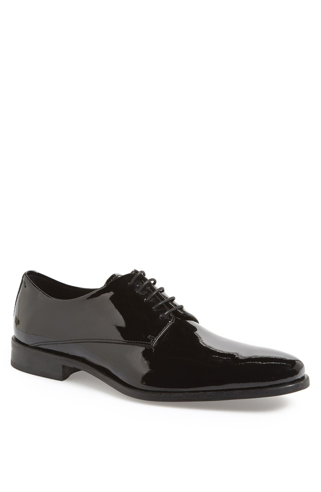 Calibrate 'Reggio' Patent Leather Derby (Men)