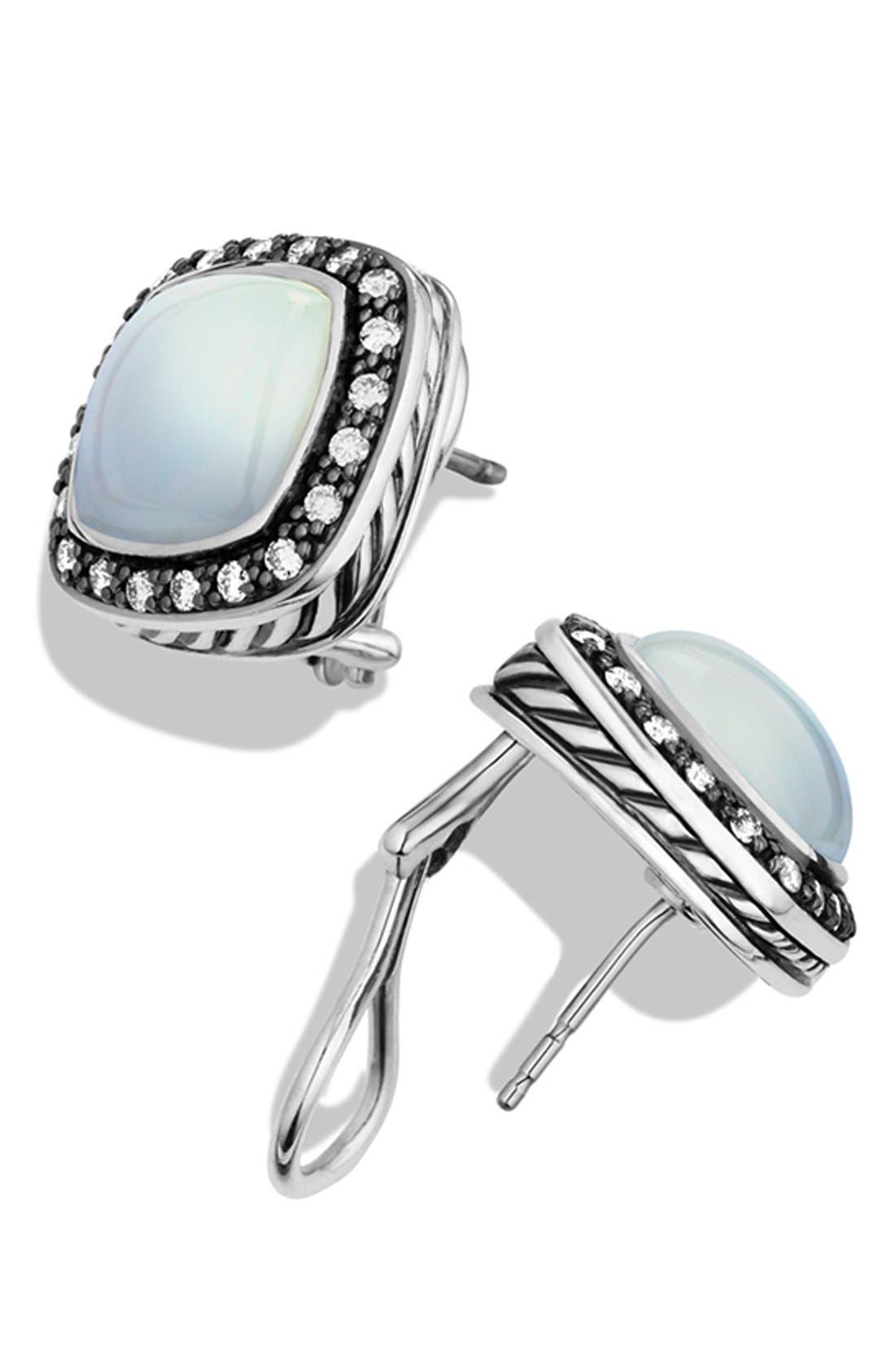 Alternate Image 2  - David Yurman 'Midnight Mélange' Pavé Diamond Earrings