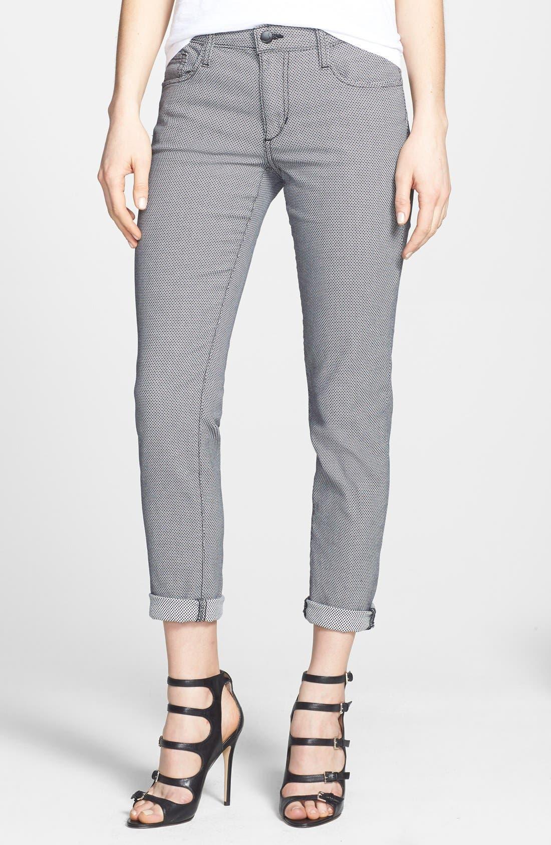 Alternate Image 1 Selected - Joe's Slim Jacquard Pants