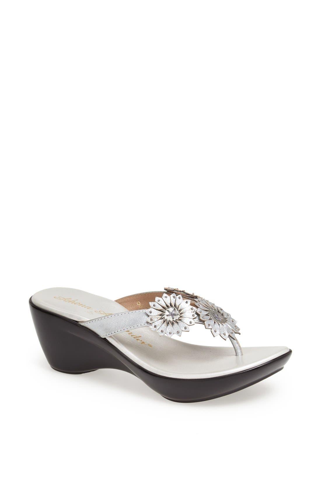 Main Image - Athena Alexander 'Clover' Thong Sandal