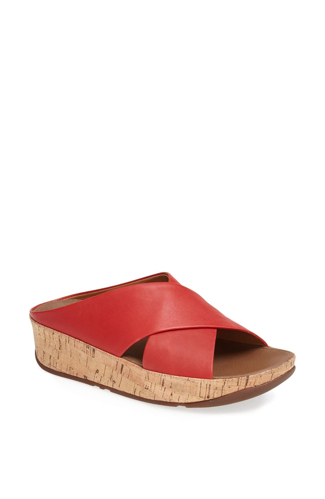 Alternate Image 1 Selected - FitFlop 'Kys™' Leather Sandal