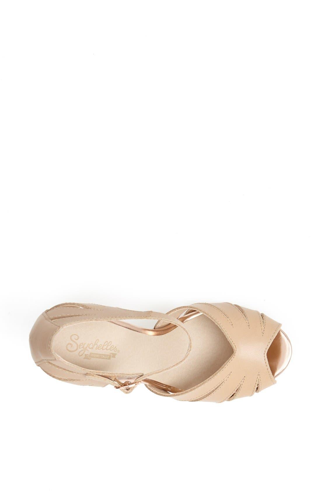 Alternate Image 3  - Seychelles 'On the Floor' Cutout Quarter Strap Sandal