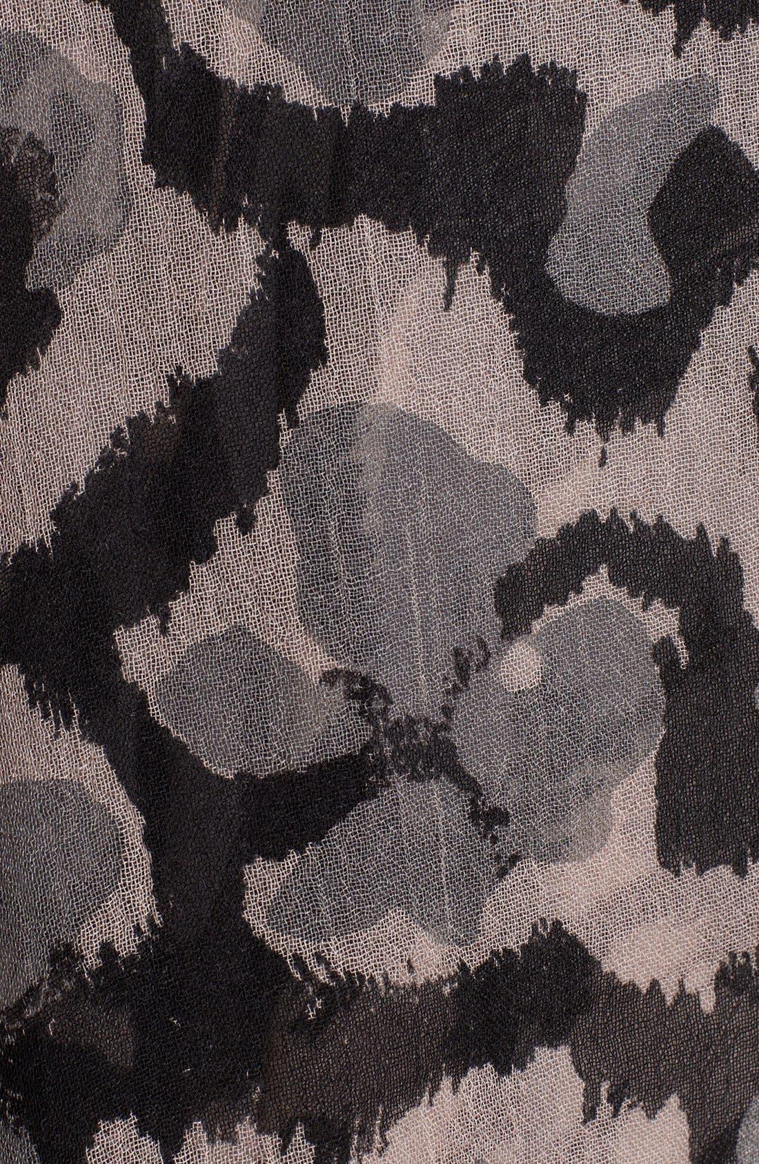 Alternate Image 2  - Zadig & Voltaire 'Delta' Leopard Scarf