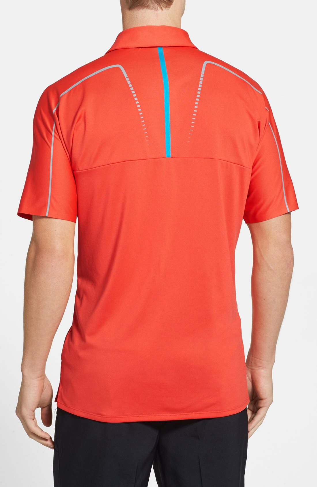 Alternate Image 2  - adidas Modern Fit CLIMACOOL® Print Polo