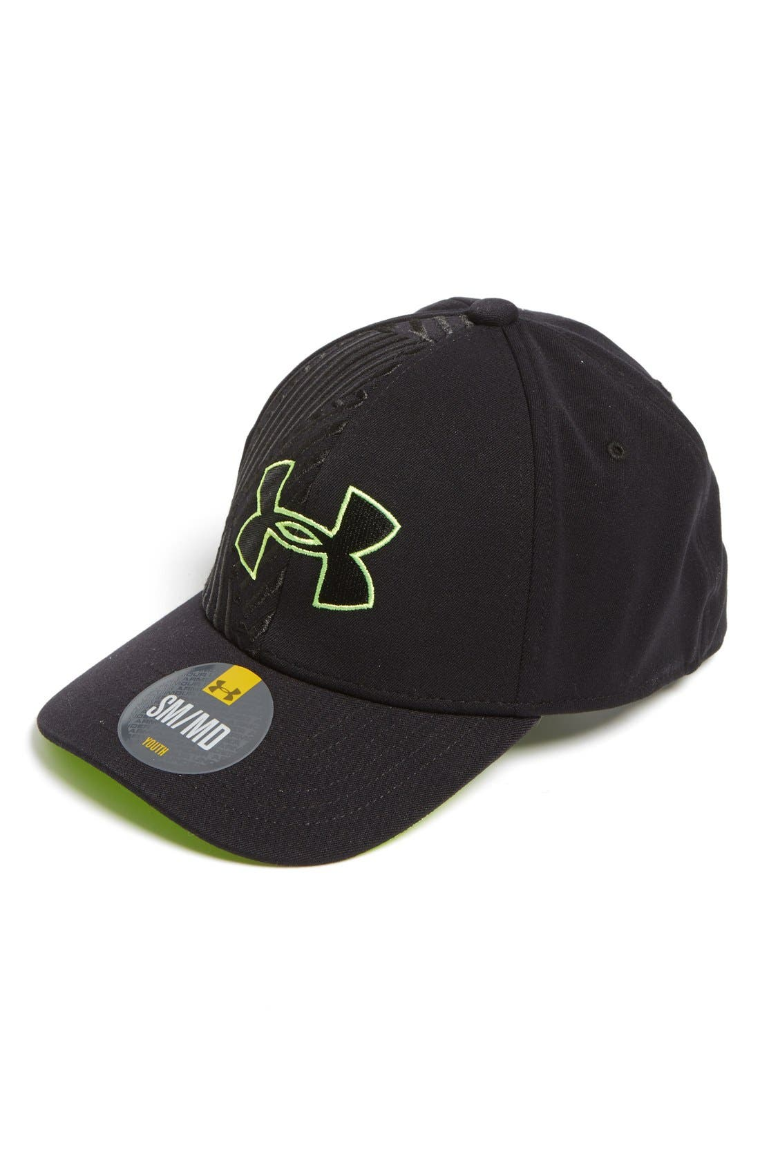 Alternate Image 1 Selected - BIG LOGO STRTCH FIT CAP