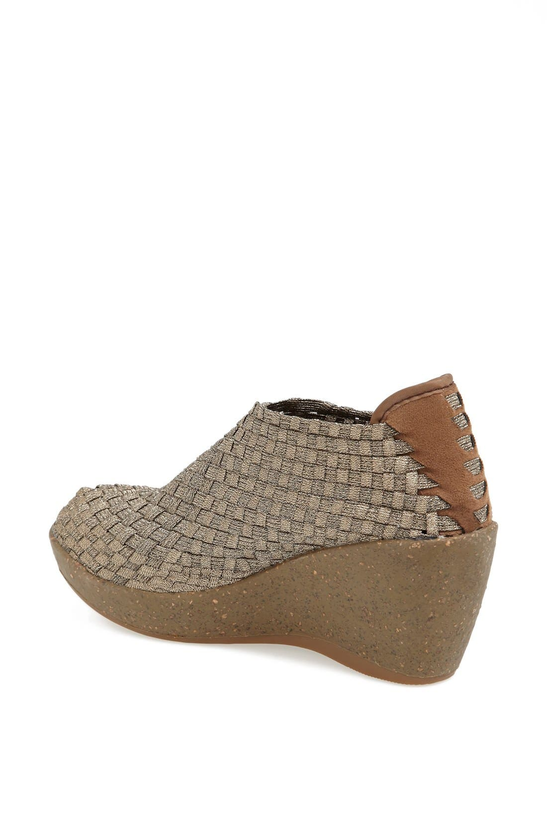 Alternate Image 2  - bernie mev. Woven Wedge