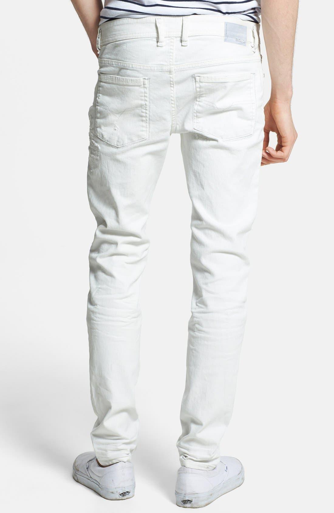 Alternate Image 2  - DIESEL® 'Sleenker' Skinny Fit Jeans (828G)
