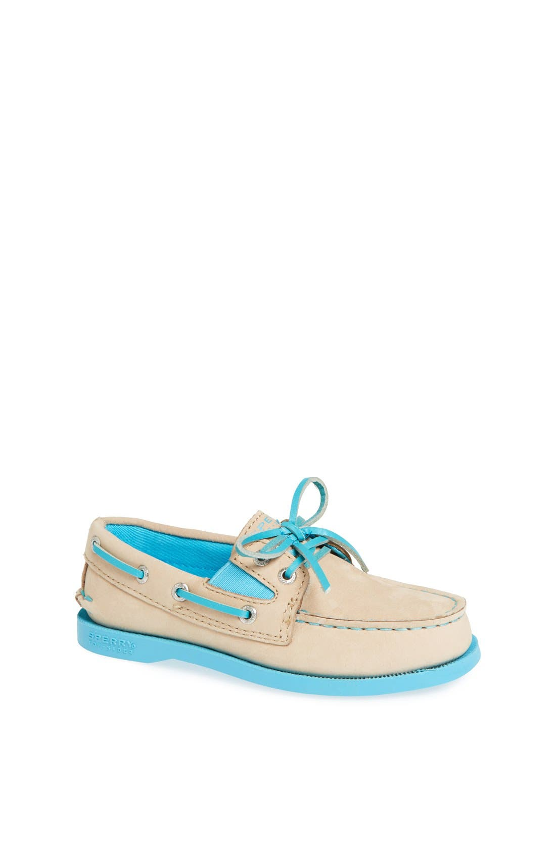 Alternate Image 1 Selected - Sperry Top-Sider® Kids 'Authentic Original' Boat Shoe (Walker, Toddler, Little Kid & Big Kid)