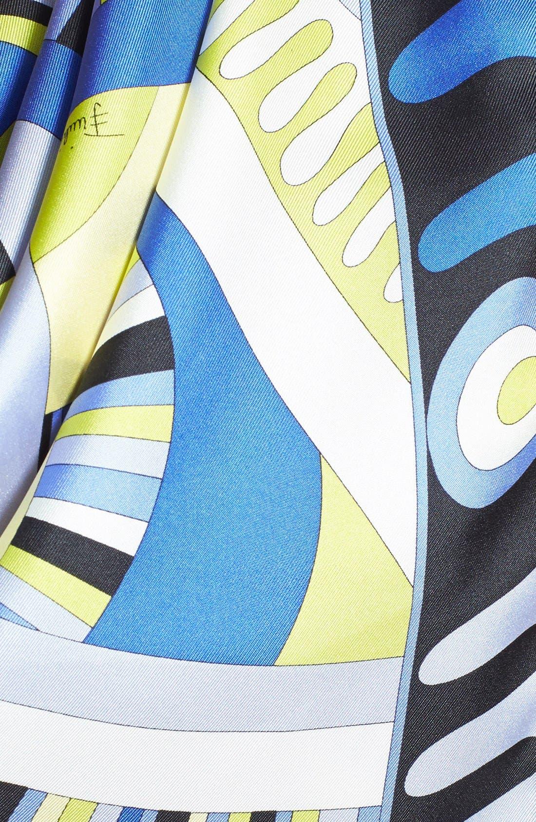 Alternate Image 3  - Emilio Pucci 'Taitu Show' Silk Scarf