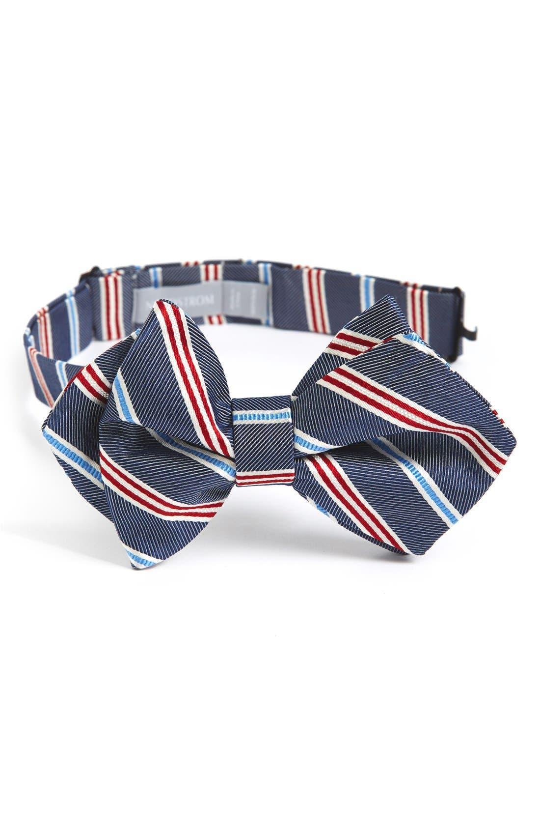 Main Image - Nordstrom Silk Bow Tie (Big Boys)