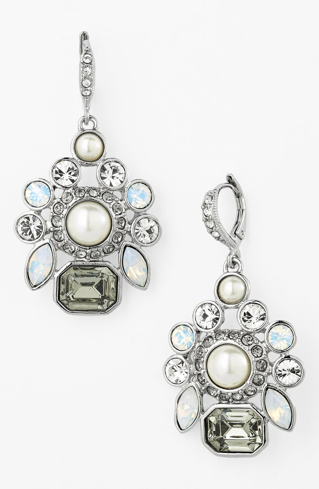 Alternate Image 1 Selected - Givenchy Cluster Drop Earrings