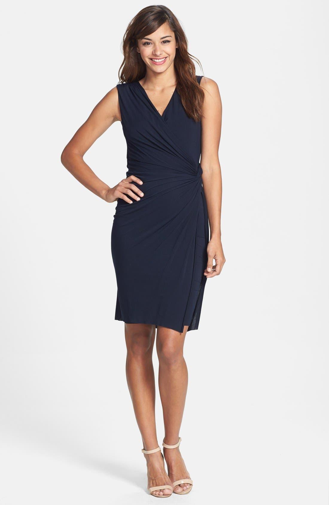 Alternate Image 3  - B44 Dressed by Bailey 44 'Drop Kick' Faux Wrap Jersey Dress