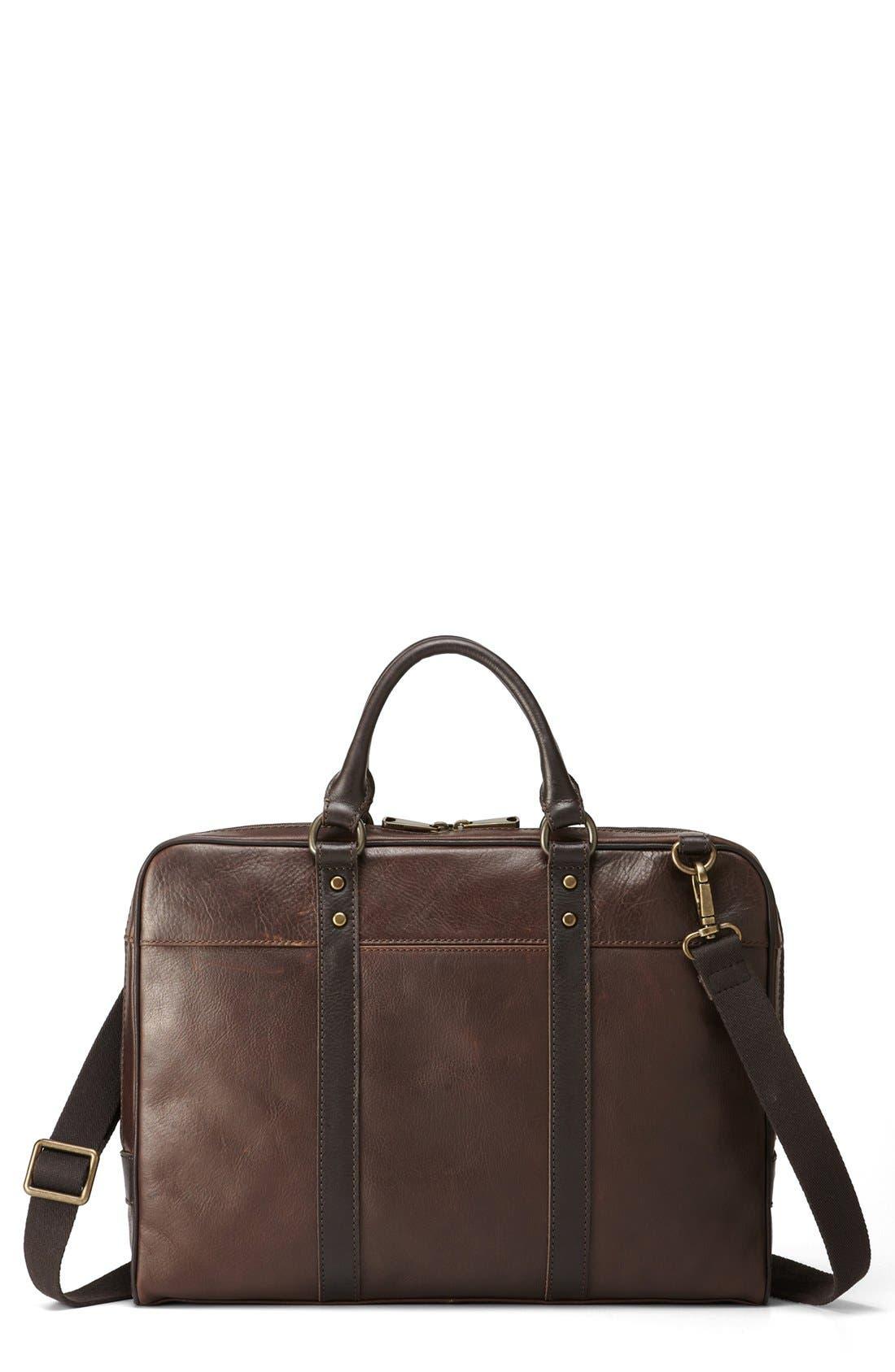 Alternate Image 2  - Fossil 'Estate' Leather Briefcase