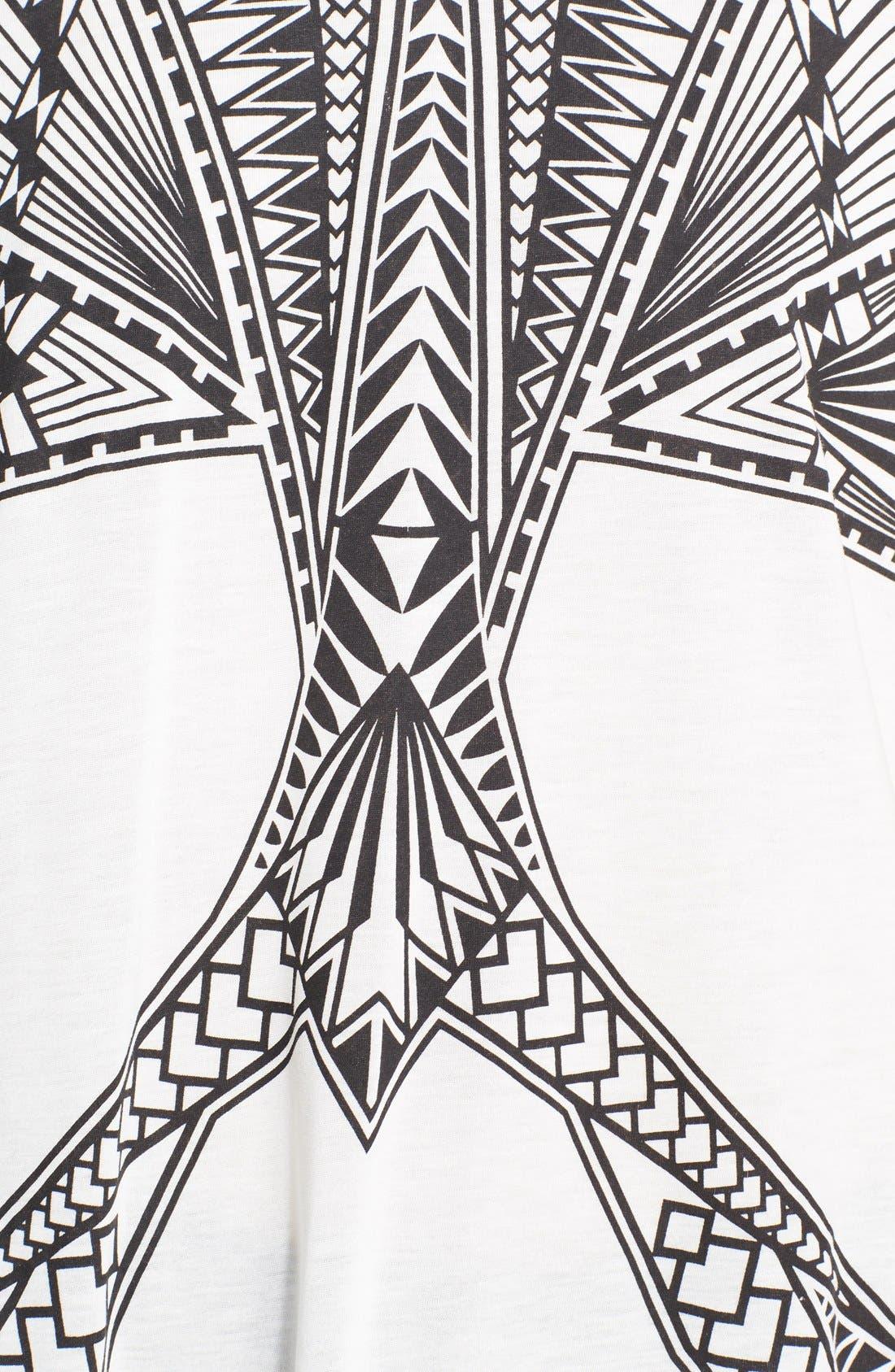 Alternate Image 4  - Herve Leger Print Tee
