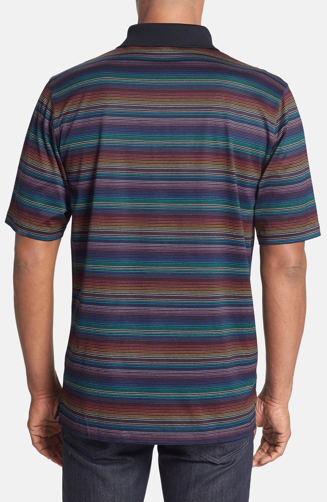 Alternate Image 2  - Bugatchi Multicolor Stripe Polo