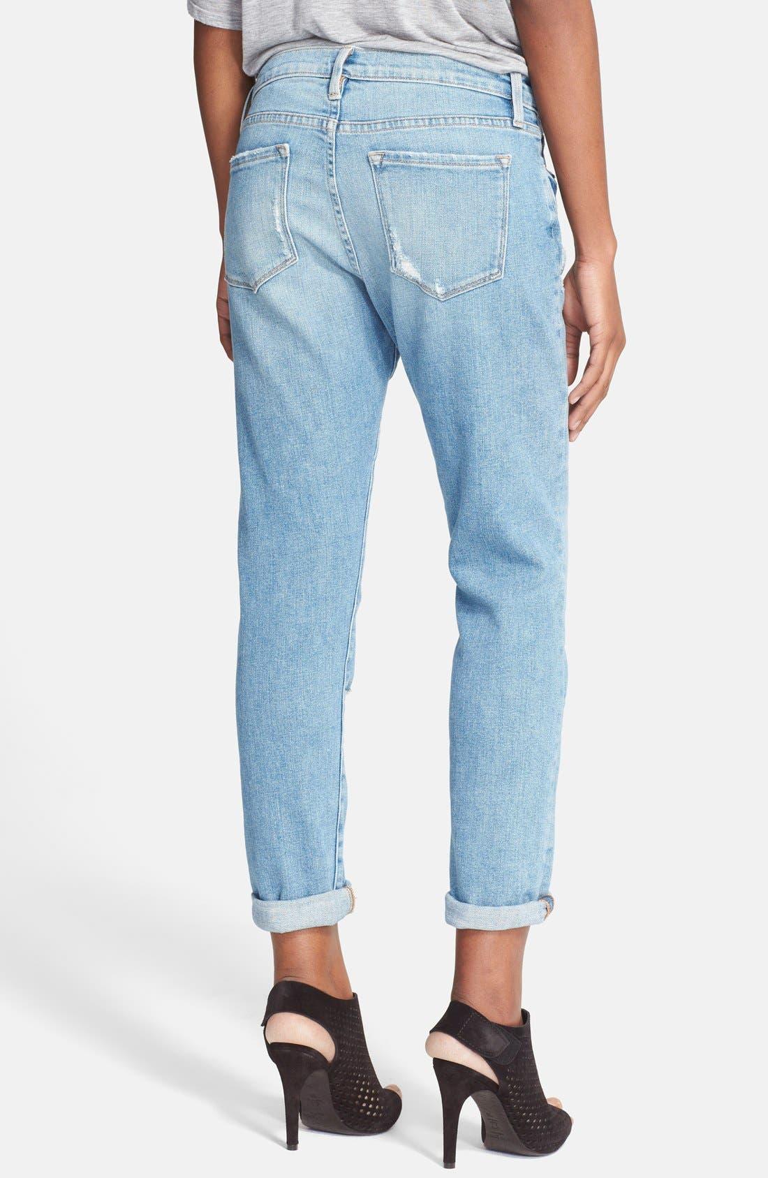 Alternate Image 2  - Frame Denim 'Le Garcon' Boyfriend Jeans (Beek Street)