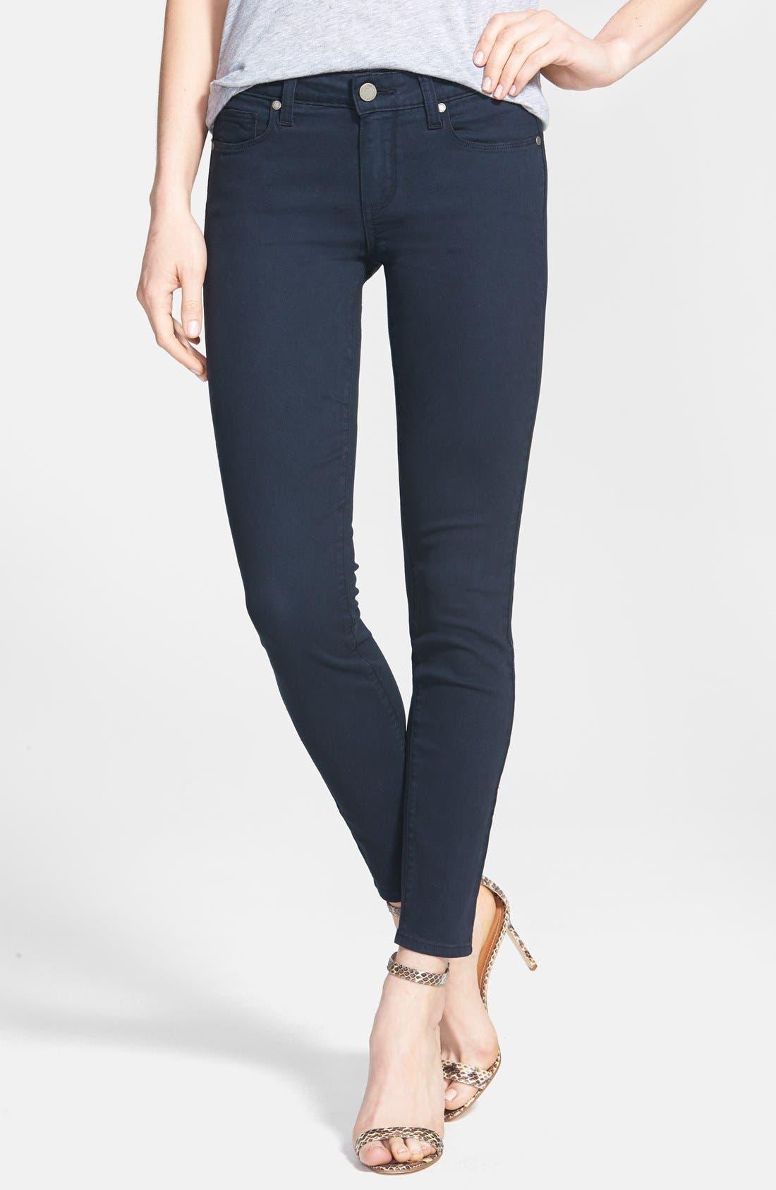 Main Image - Paige Denim 'Verdugo' Skinny Ankle Jeans (Azure)