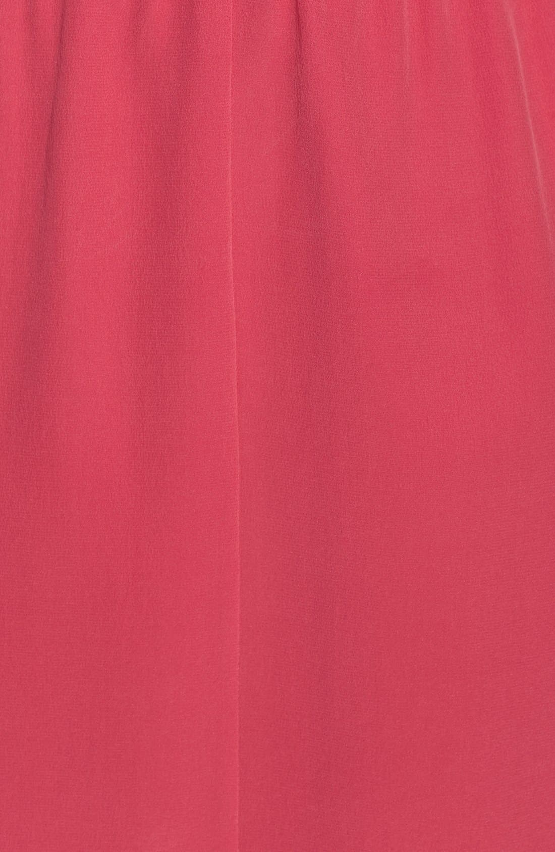 Alternate Image 3  - Rachel Roy Draped Silk Dress