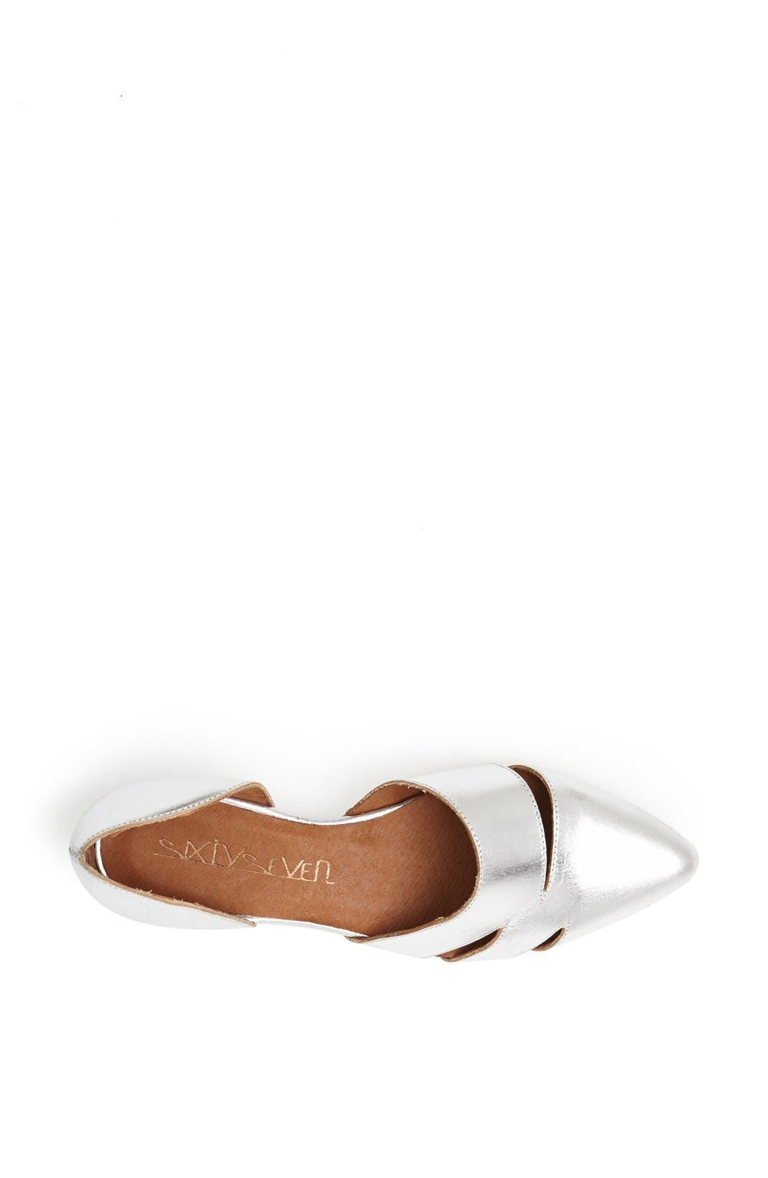 Alternate Image 3  - SIXTYSEVEN 'Erika' Pointy Toe Flat