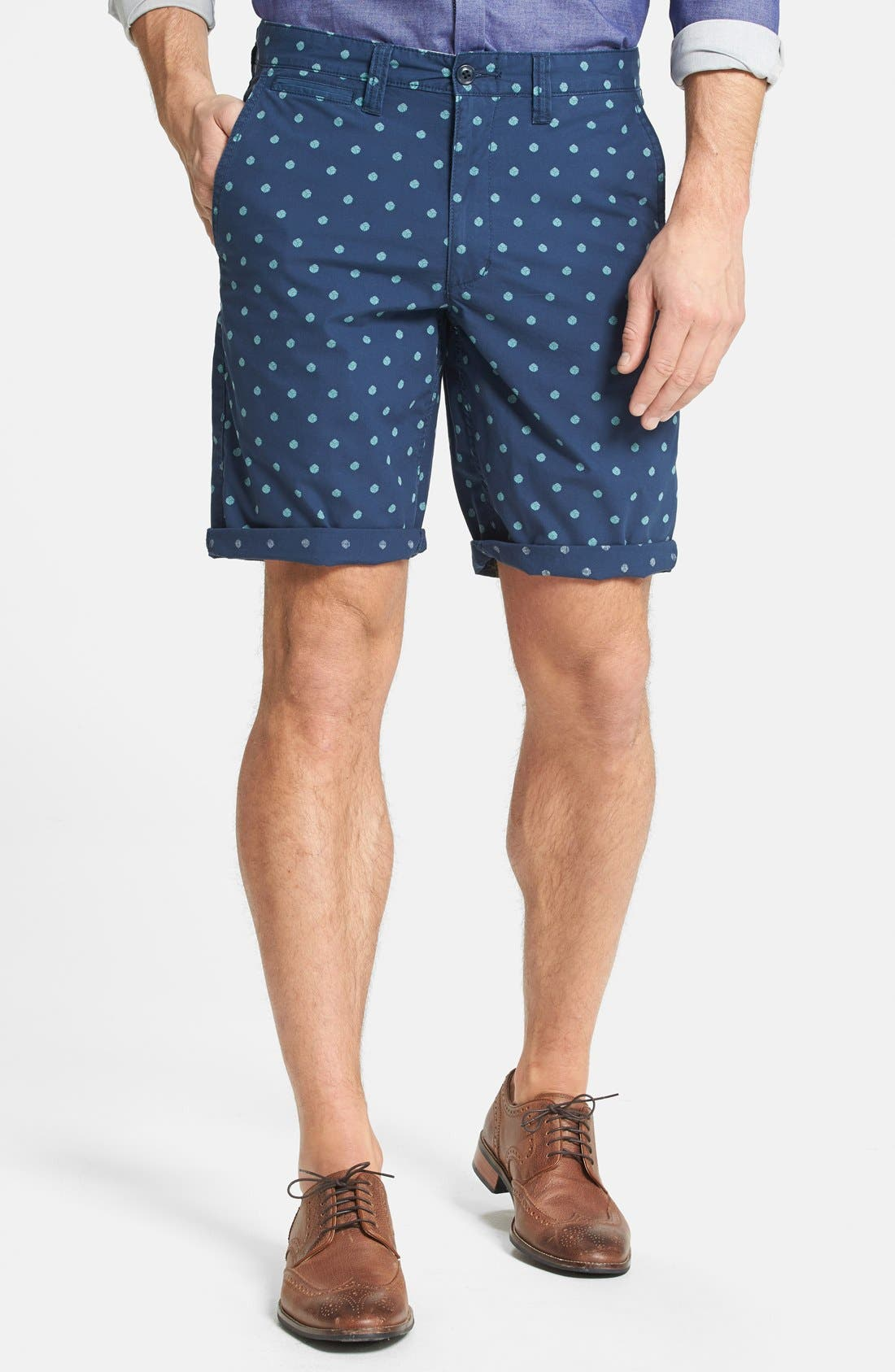 Alternate Image 1 Selected - Dockers® 'Tie Knot' Print Shorts
