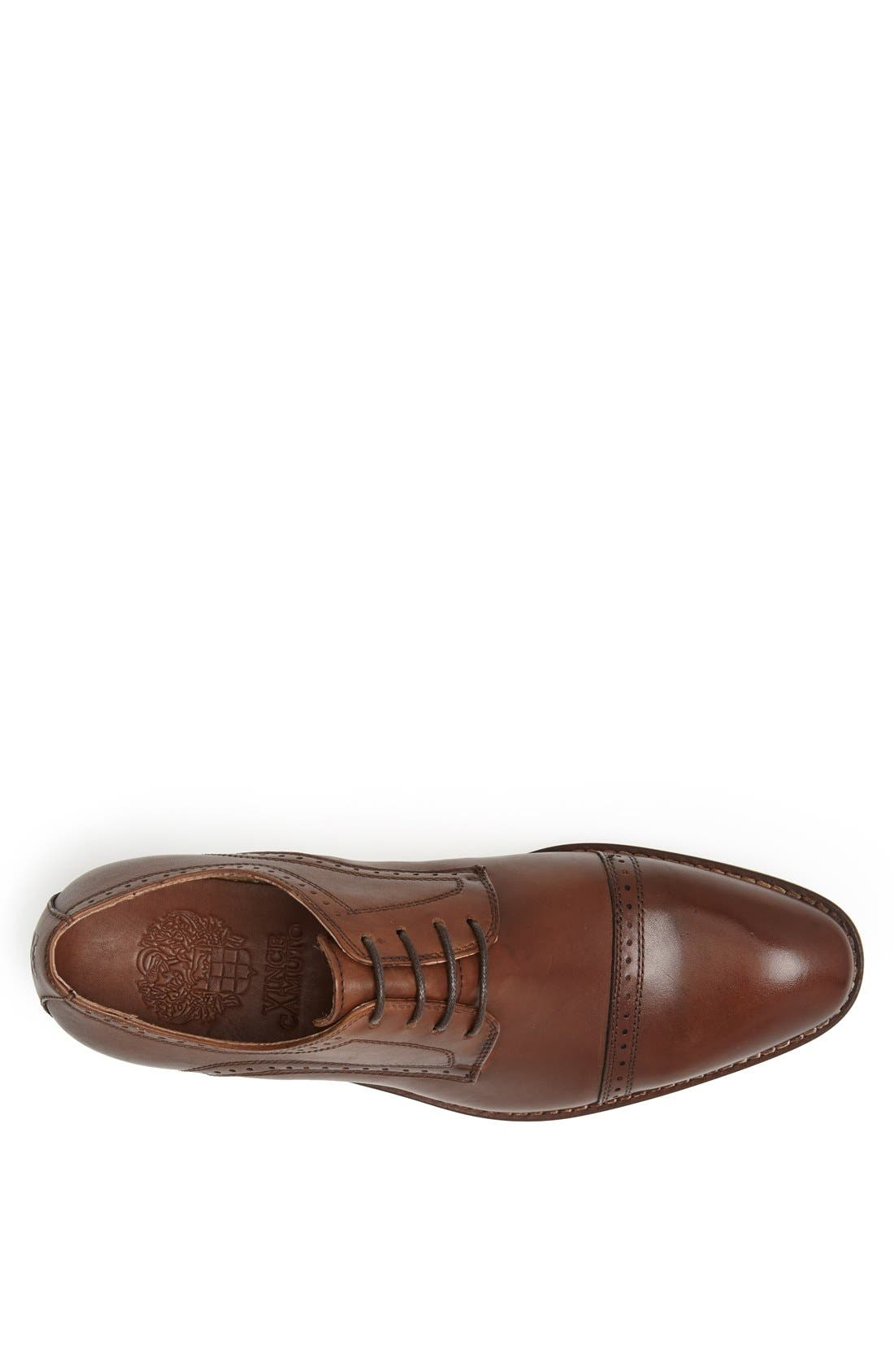 Alternate Image 3  - Vince Camuto 'Rao' Cap Toe Derby (Men)