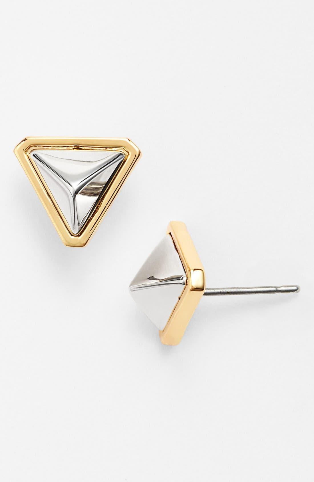 Alternate Image 1 Selected - Vince Camuto 'Mayan Metals' Stud Earrings