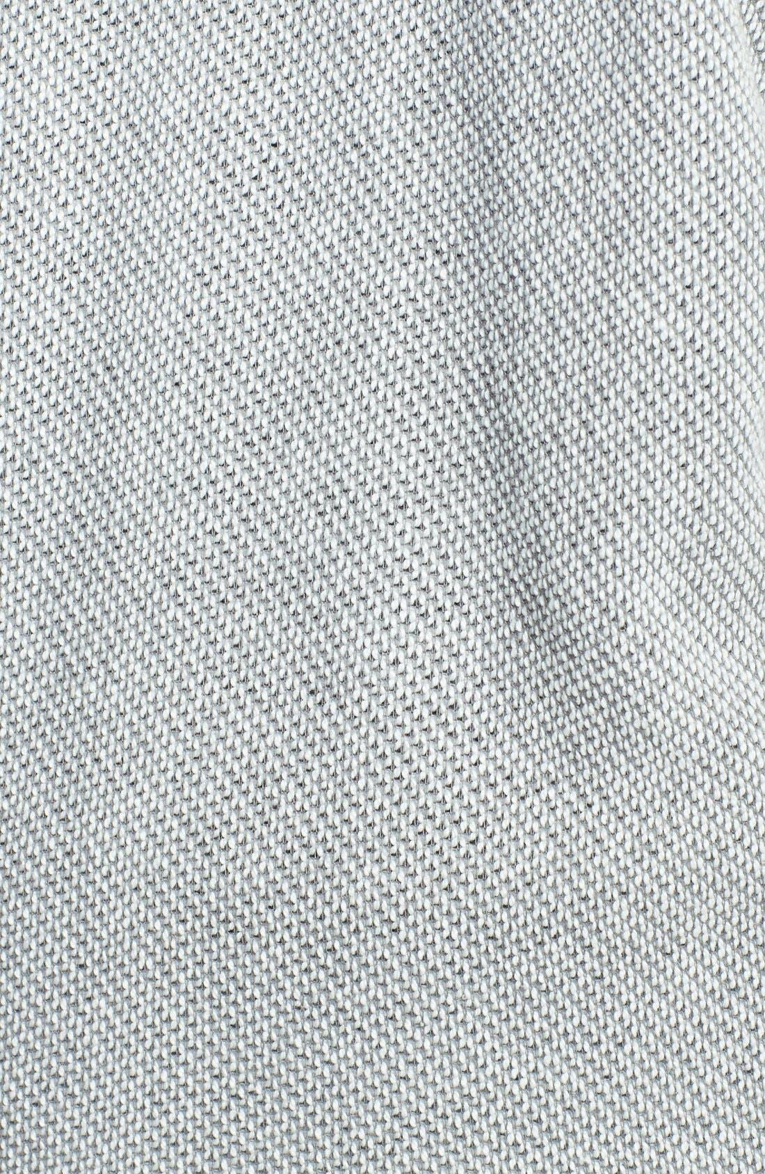 Alternate Image 3  - Lucky Brand Crochet Zip Hoodie (Plus Size)