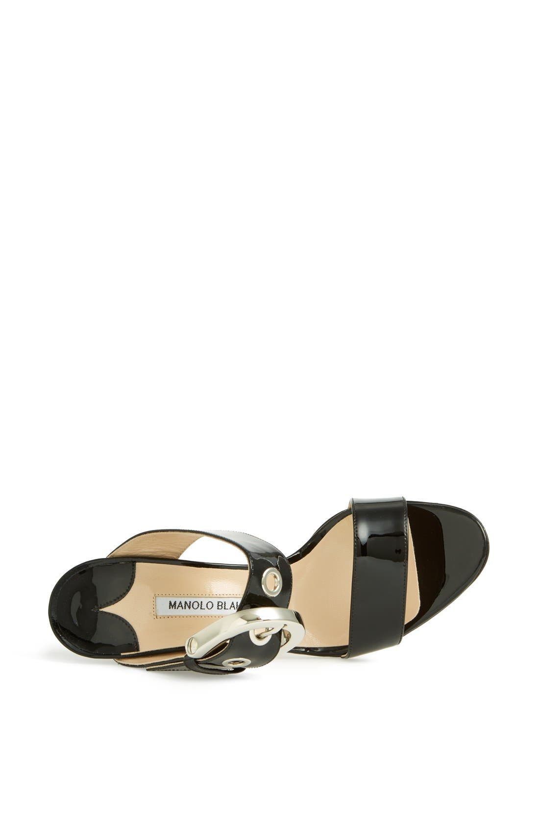 Alternate Image 3  - Manolo Blahnik 'Bila' Slide Sandal