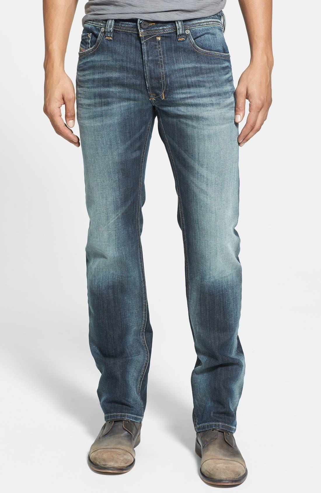 Alternate Image 1  - DIESEL® Safado Slim Fit Jeans (885K)
