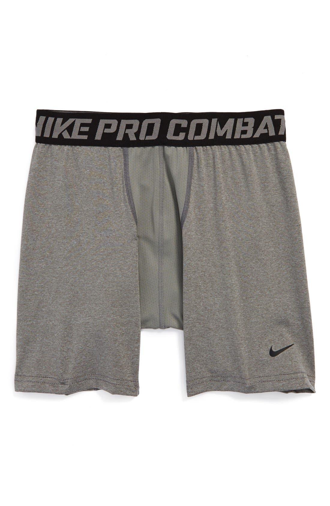 Alternate Image 1 Selected - Nike 'Pro Core' Compression Shorts (Big Boys)