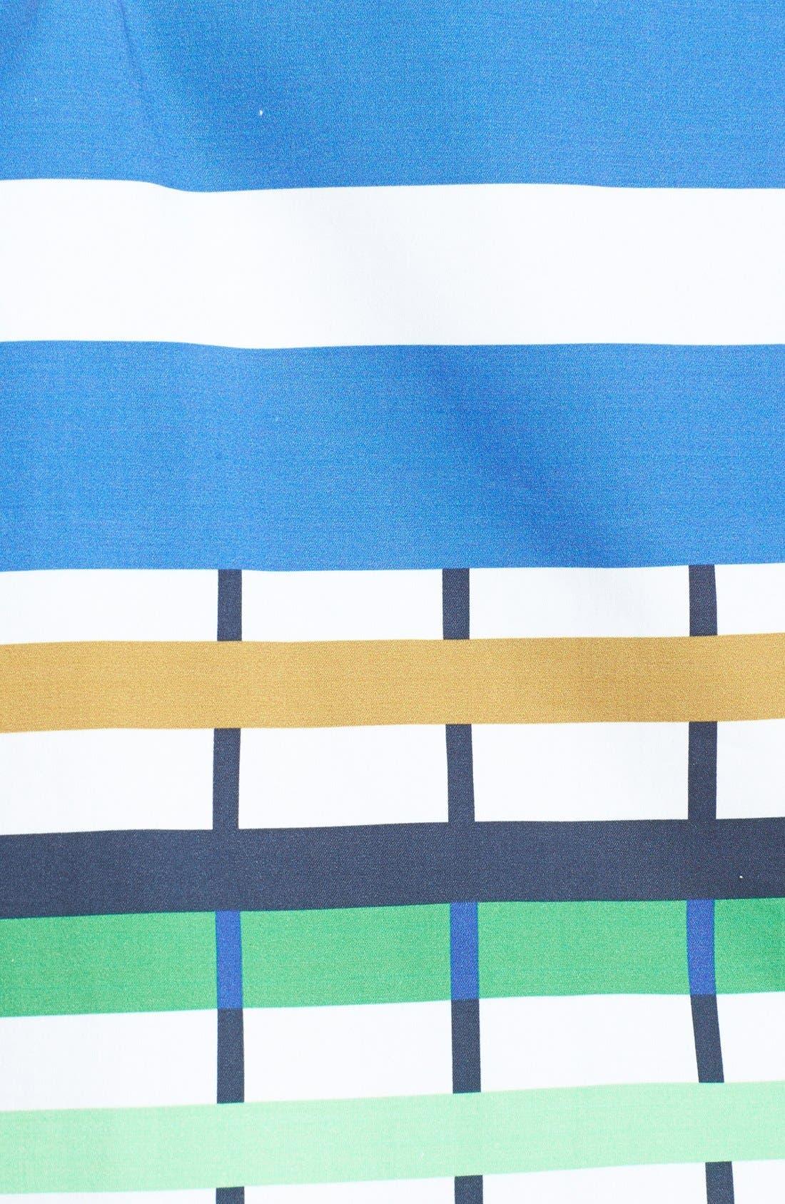 Alternate Image 4  - Donna Morgan Check Print Shirtdress