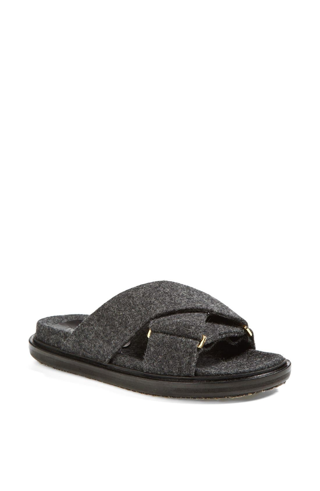 Alternate Image 1 Selected - Marni Flannel Sandal