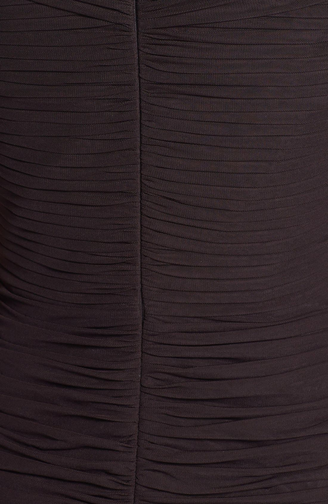Alternate Image 3  - Daymor '8031' Ruched Elbow Sleeve Dress