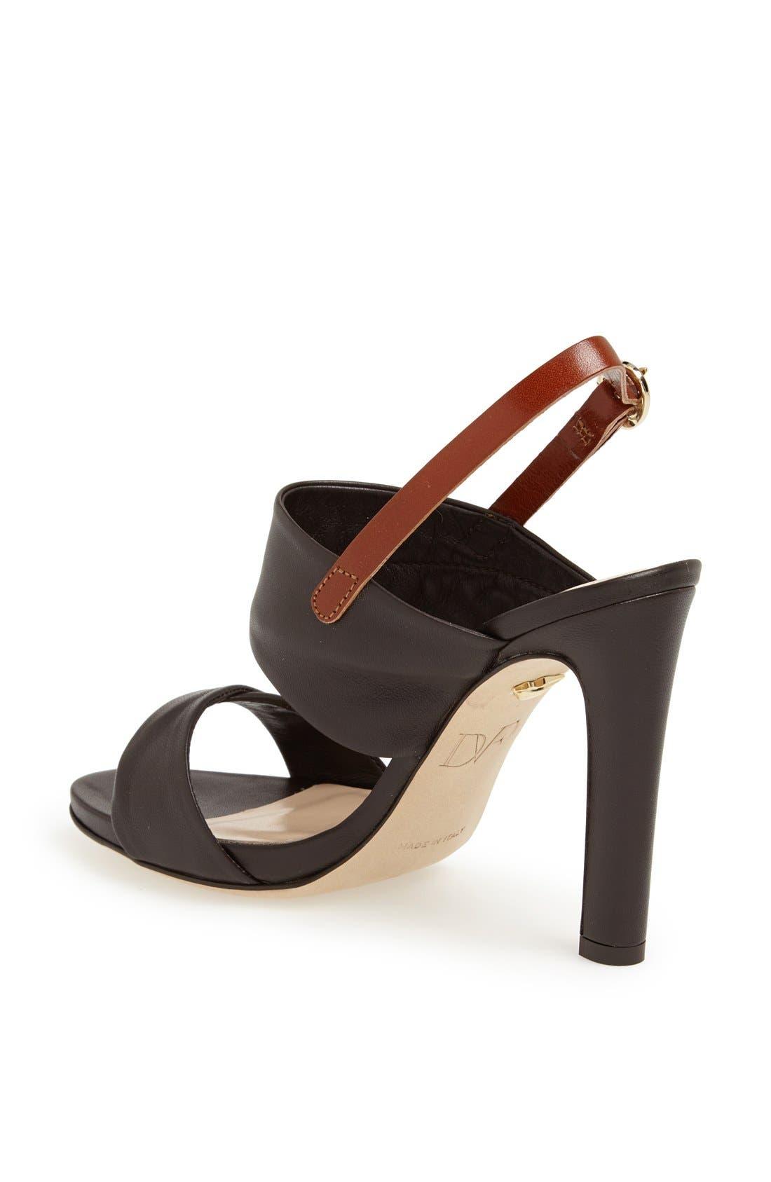 Alternate Image 2  - Diane von Furstenberg 'Jacey' Leather Sandal